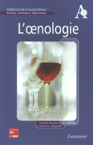 L'oenologie - lavoisier / tec et doc - 9782743009236 -