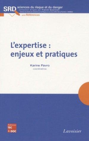 L'expertise : enjeux et pratiques - lavoisier / tec et doc - 9782743011048 -