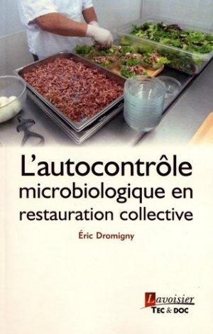L'autocontrôle microbiologique en restauration collective - lavoisier / tec et doc - 9782743024413 -