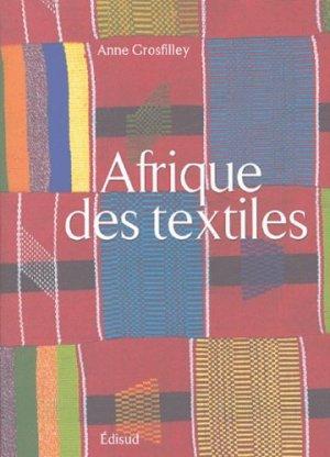 L'Afrique des textiles - Edisud - 9782744904455 -