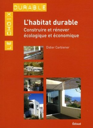 L'habitat durable - Edisud - 9782744907449 -