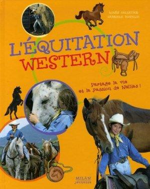 L'équitation western - milan - 9782745921192 -