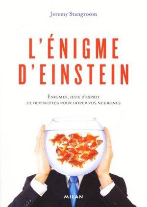 L'Énigme d'Einstein - milan - 9782745939333 -