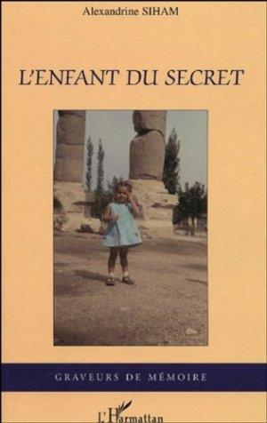 L'enfant du secret - l'harmattan - 9782747570770 -