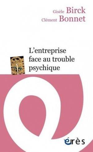 L'entreprise face au trouble psychique - eres - 9782749255774 -