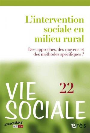 L'intervention sociale en milieu rural - Des approches, des moyens et des méthodes - eres - 9782749261829 -