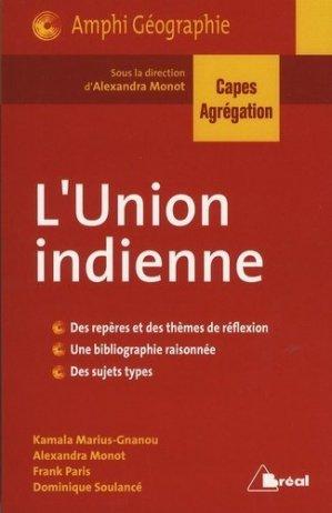 L'Union indienne - Bréal - 9782749534435 -