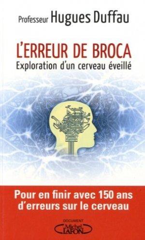 L'erreur de Broca - michel lafon - 9782749926100 -