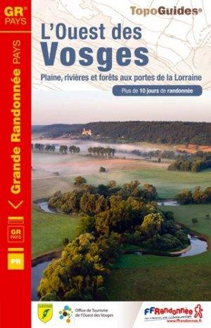 L'Ouest des Vosges - FFRandonnée - 9782751408076 -