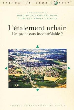 L'étalement urbain - presses universitaires de rennes - 9782753510494 -