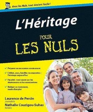 L'Héritage pour les nuls - first editions - 9782754033725 -