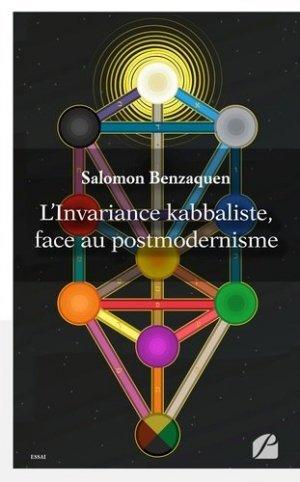 L'invariance kabbaliste, face au postmodernisme - du panthéon - 9782754741422 -