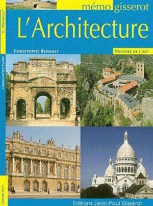 L'architecture - gisserot - 9782755801347 -
