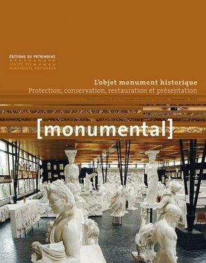 L'Objet monument historique - du patrimoine - 9782757701430 -