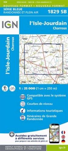 L'Isle-Jourdain (Vienne)/Charroux - ign - 9782758533986 -
