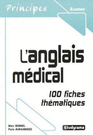 L'anglais médical - studyrama - 9782759000647 -