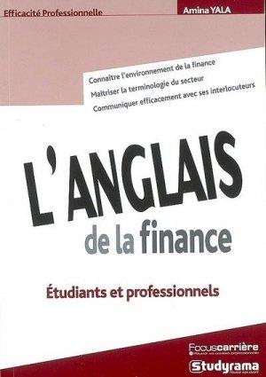 L'anglais de la finance - Studyrama - 9782759004157 -