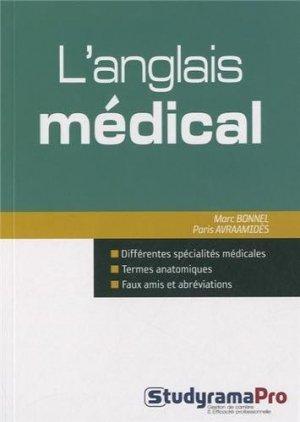 L'anglais médical - studyrama - 9782759019342 -
