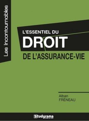 L'essentiel du droit de l'assurance-vie - Studyrama - 9782759033935 -