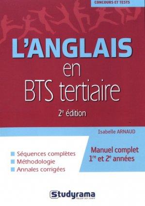 L'anglais en BTS tertiaire - studyrama - 9782759035120 -