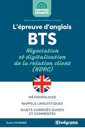 L'épreuve d'anglais au BTS - studyrama - 9782759042227 -