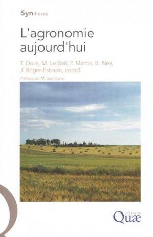 L'agronomie aujourd'hui - quae  - 9782759200009 -