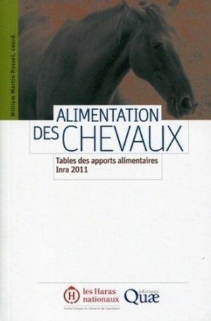 L'alimentation des chevaux - quae / les haras nationaux - 9782759217083 -