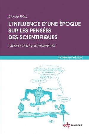 L'influence d'une époque sur les pensées scientifiques - edp sciences - 9782759817078 -