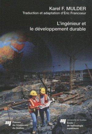 L'ingénieur et le développement durable - Presses de l'Université du Québec - 9782760516014 -