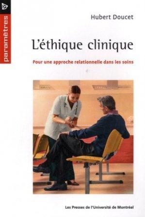 L'étique clinique - presses de l'universite de montréal - 9782760633865 -