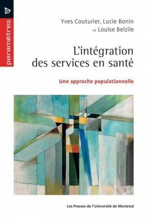 L'intégration des services en santé - presses de l'universite de montréal - 9782760635678 -