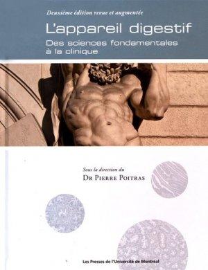 L'appareil digestif - presses de l'universite de montréal - 9782760636248 -