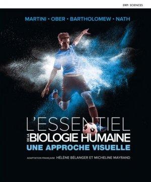 L'essentiel de la biologie humaine | Manuel + Édition en ligne   MonLab - erpi - 9782761367080 -