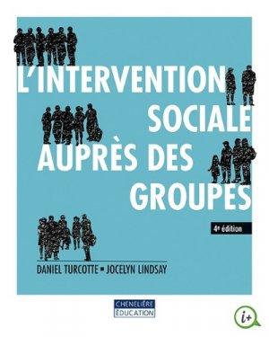 L'intervention sociale auprès des groupes - cheneliere education (canada) - 9782765057949