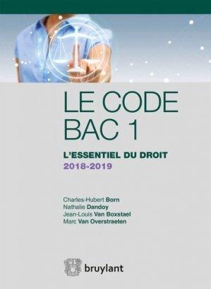 L'essentiel du droit. Edition 2018-2019 - bruylant - 9782802762850 -