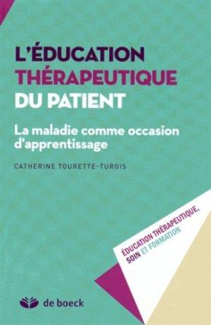L'éducation thérapeutique du patient - de boeck superieur - 9782804190811 -