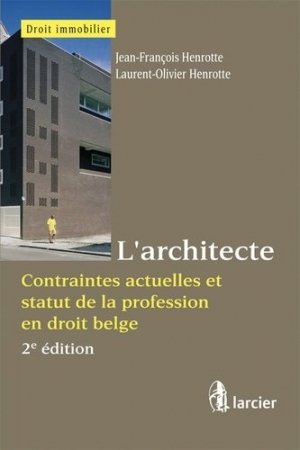 L'architecte - larcier - 9782804447496