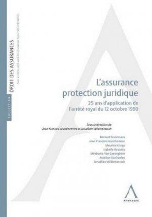 L'assurance protection juridique - Anthemis - 9782807200937 -