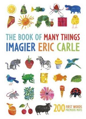 L'imagier Eric Carle, mes 200 premiers mots - mijade - 9782807700666 -