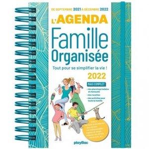 L'agenda de la famille oganisée - Play Bac - 9782809675344 -