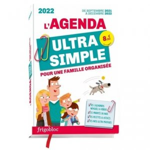 L'agenda ultra simple - Play Bac - 9782809675382 -