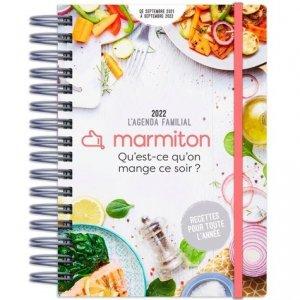 L'agenda familial marmiton - Play Bac - 9782809675399 -