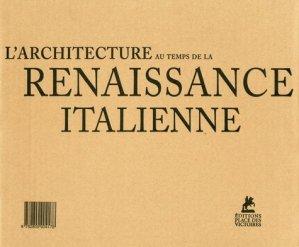 L'architecture au temps de la Renaissance - place des victoires - 9782809904178 -