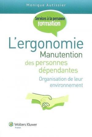 L'ergonomie - wolters kluwer - 9782811700041 -