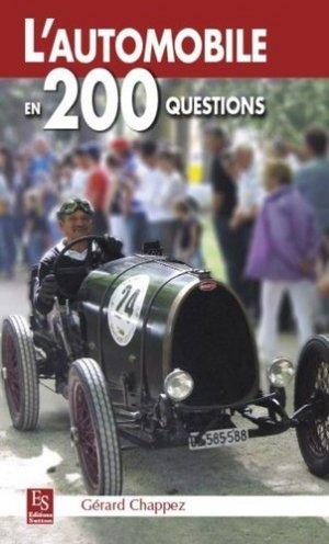 L'automobile en 200 questions - alan sutton - 9782813807625 -