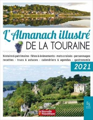 L'almanach illustré de la Touraine - alan sutton - 9782813813978 -