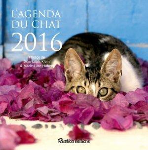 L'agenda du chat 2016 - rustica - 9782815306607 -