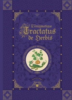 L'énigmatique Tractatus de Herbis - rustica - 9782815309981 -