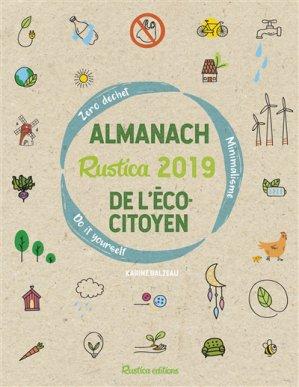L'almanach Rustica 2019 de l'écocitoyen - rustica - 9782815311571 -