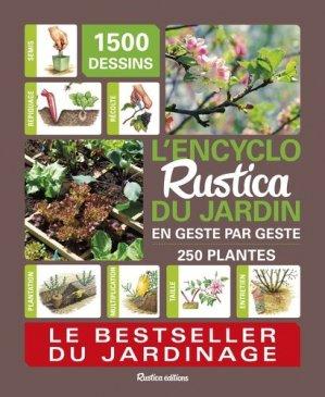 L'encyclo rustica du jardin - rustica - 9782815312073 -